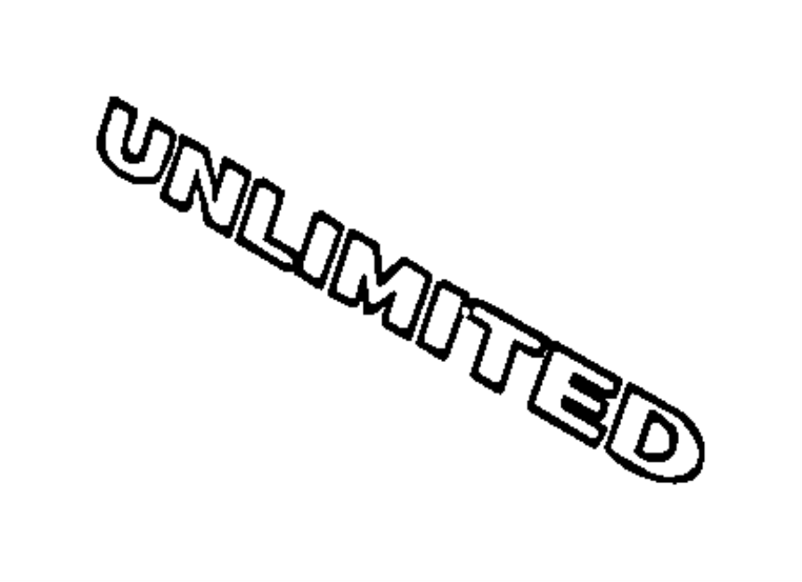 2012 Jeep Wrangler Decal. Wrangler unlimited. Color: [no
