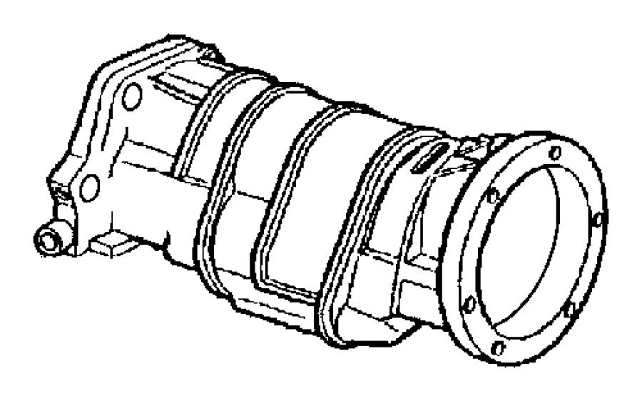 Dodge Ram 2500 Adapter. Transfer case. Extension