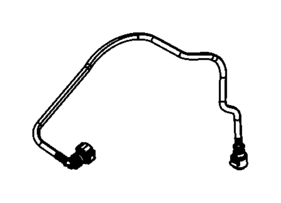 Dodge Charger Tube. Fuel supply. Ivorycflex, vehiclepolice