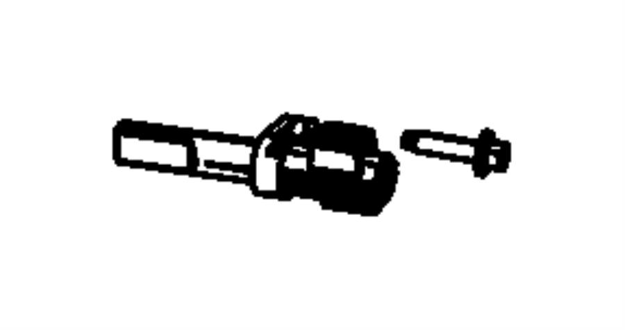 2009 Dodge Ram 1500 Sensor. Wheel speed. Axle, control