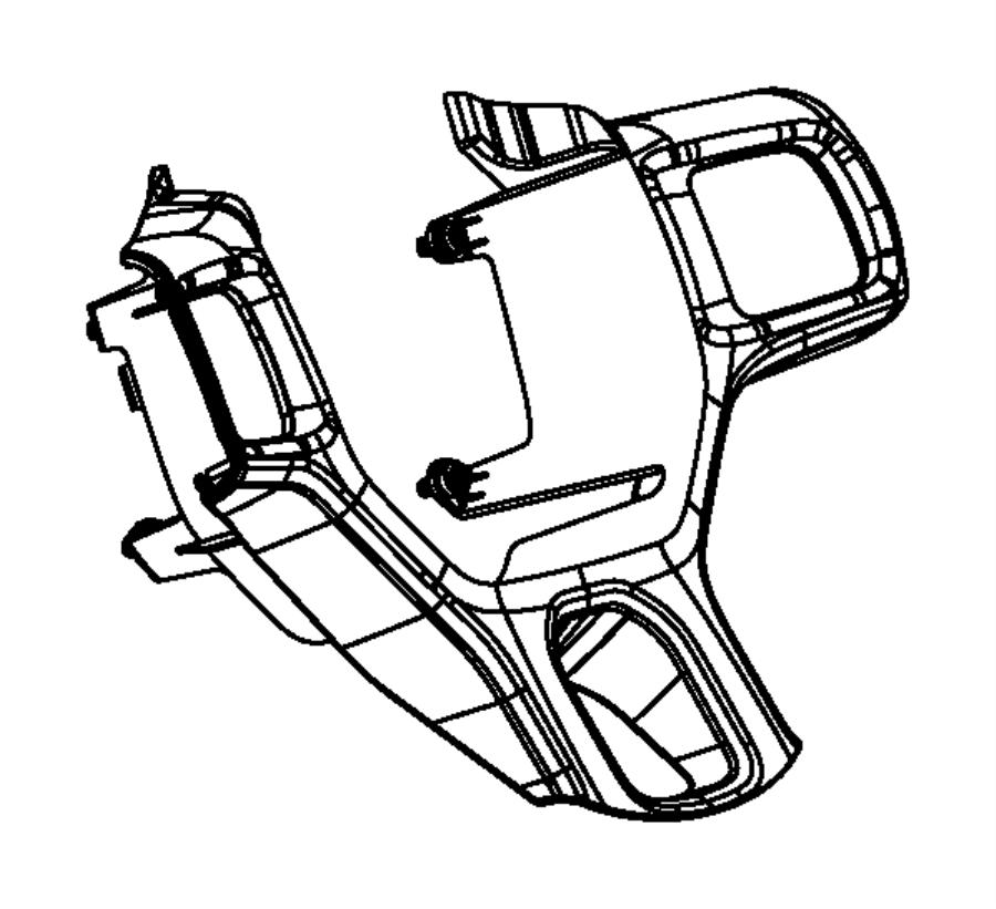 Dodge Ram 4500 Bezel. Steering wheel switch. Trim: [all