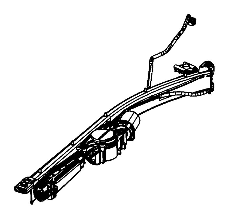 2014 Ram C/V Track. Power sliding door. [left power