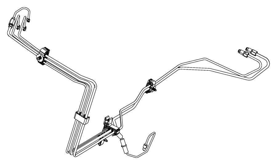 2015 Dodge Charger Clip. Brake tube. Disc, wheel, lock