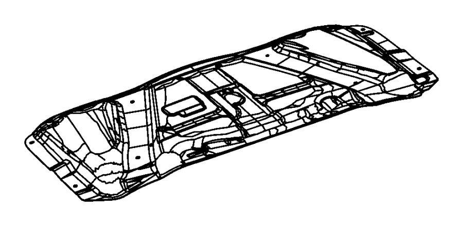 2010 Dodge Challenger Silencer. Hood. Mopar, silencers