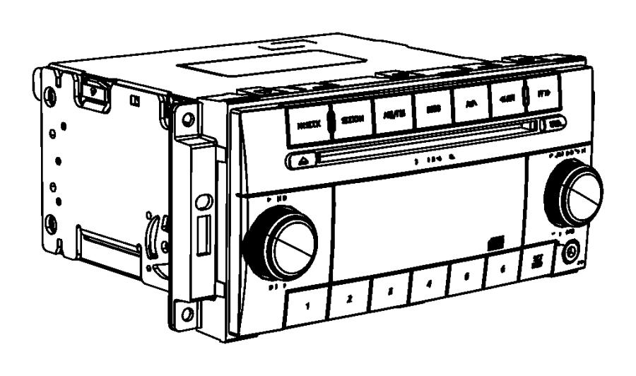 Jeep Wrangler Radio. Multi media. Uconnect, panel, sirius