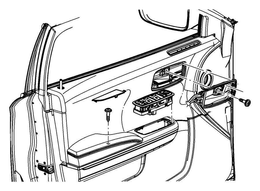 2013 Dodge Charger Panel. Front door. Left. Trim: [prem