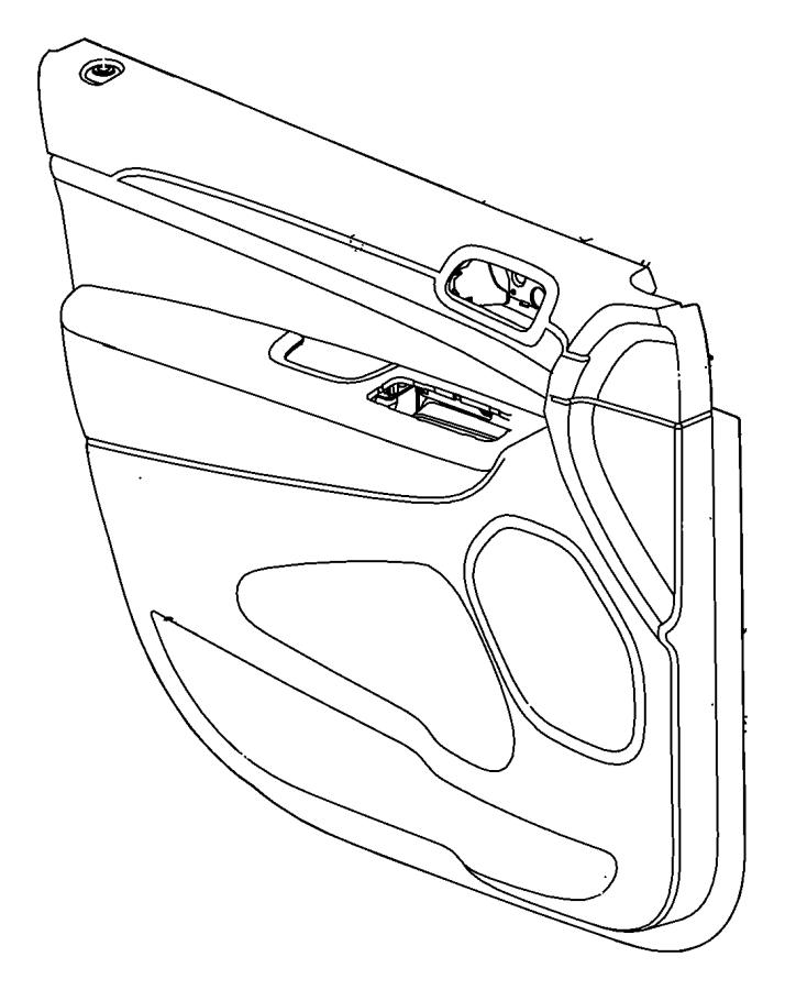 Dodge Charger Pin, push pin. Door panel attaching. Export
