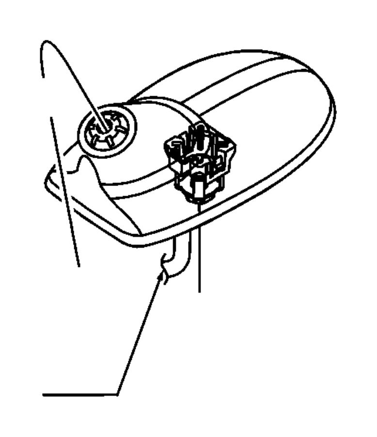 2012 Jeep Grand Cherokee Antenna. Controlelec