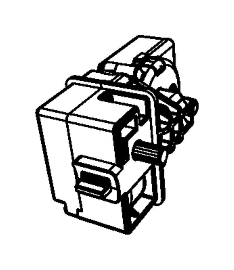 Jeep Grand Cherokee Module. Steering column, steering