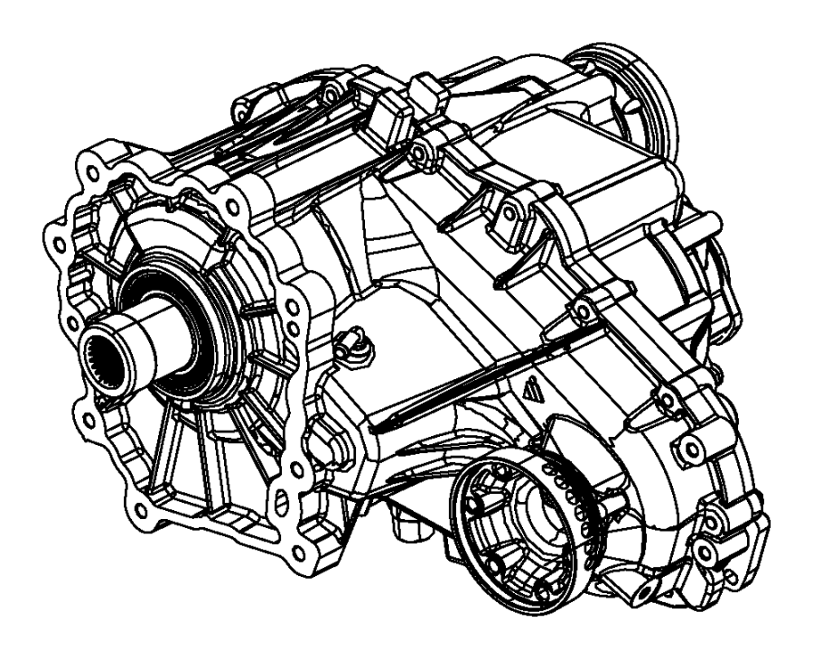 2014 Jeep Grand Cherokee Transfer case. Remanufactured