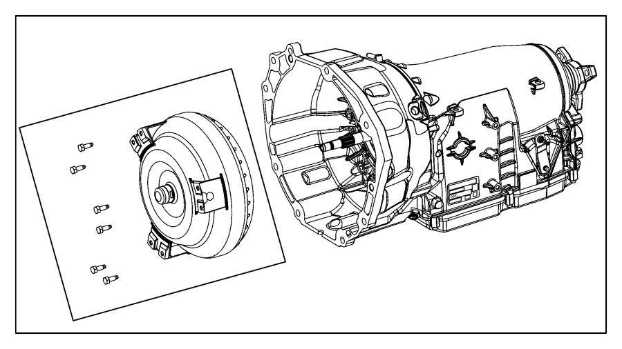 Chrysler 300 Transmission kit. With torque converter