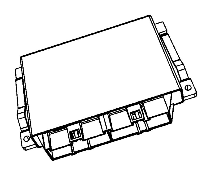 Jeep Wrangler Module. Transmission control. Modules