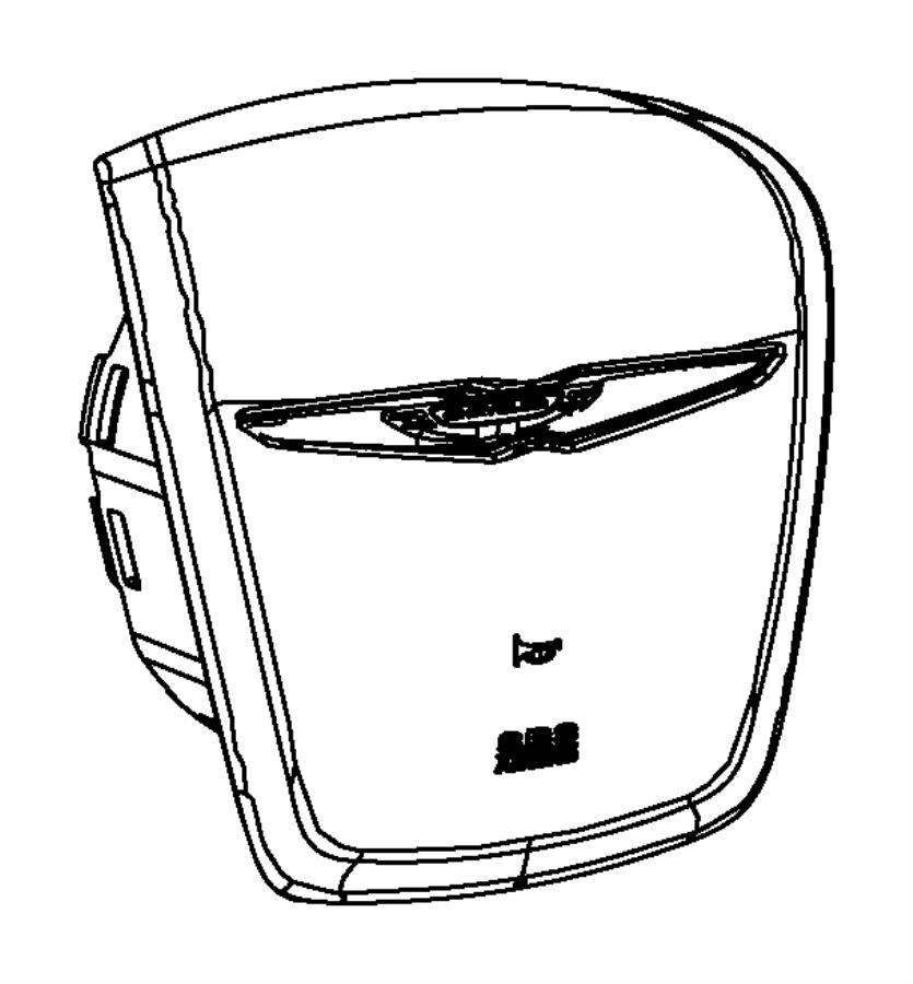 2014 Chrysler 200 Air bag. Driver. [x1], [x9]. Trim: [all