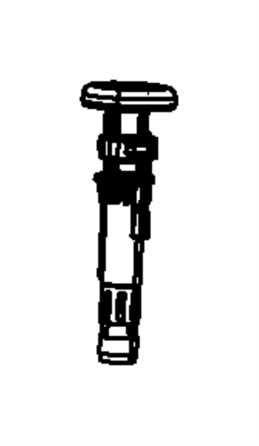 Chrysler Sebring Sleeve. Headrest. Locking. Trim: [premium
