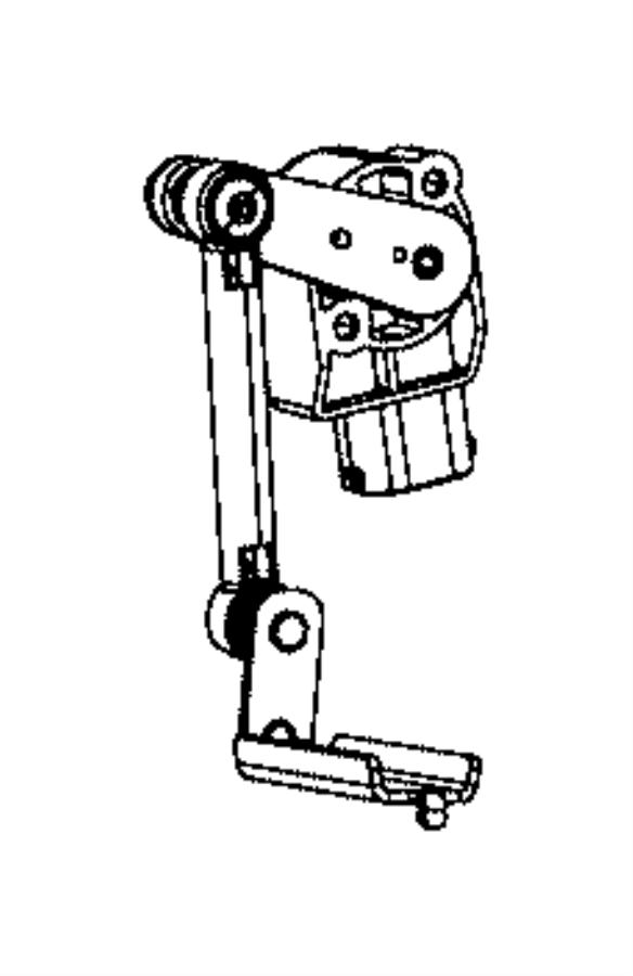Jeep Grand Cherokee Sensor. Height. Controlblind