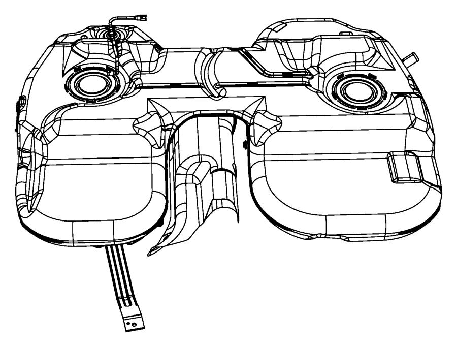 2004 Chrysler Pacifica Tank. Fuel. Gallon, related, mopar