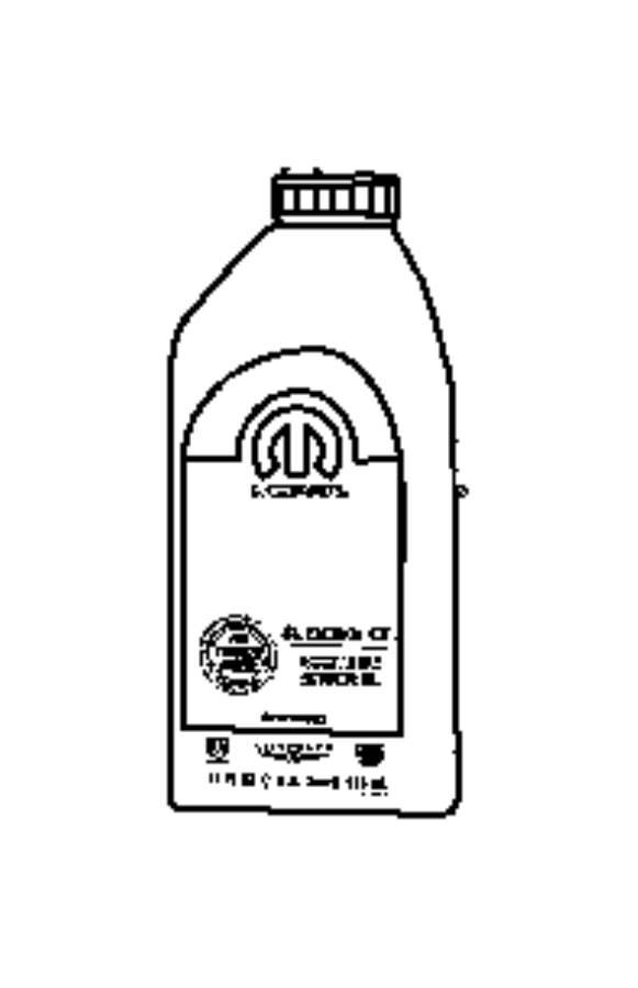 Chrysler Town & Country Engine oil. 5w30. Quart. Filter