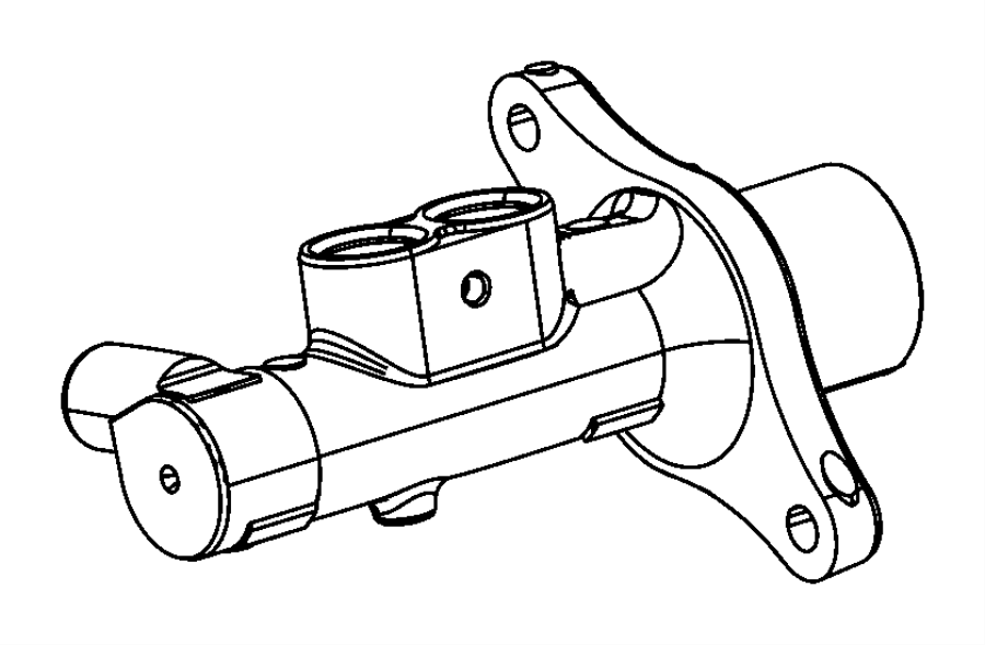 2013 Dodge Dart Master cylinder. Brake. Maintenance