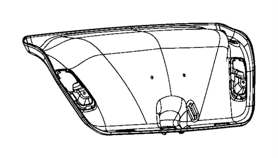 2016 Dodge Dart Panel. [decklid liner]. Trim: [no