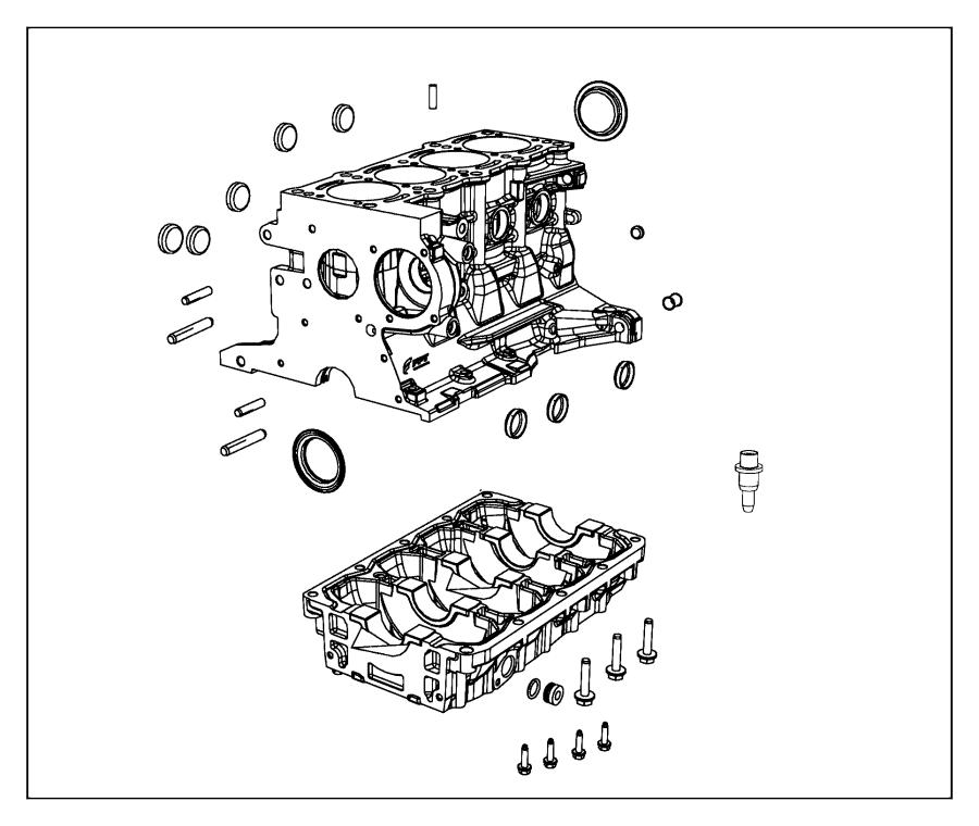 Chrysler Sebring Dowel, dowel pin, pin. Fastener
