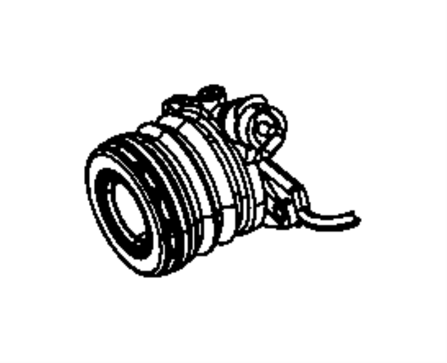 2013 Dodge Dart Bearing. Clutch release. Module, power