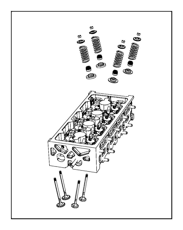 2015 Dodge Dart Retainer. Valve spring. Intake, upper
