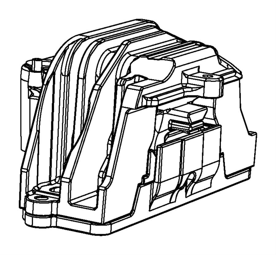 2008 Chrysler Sebring Engine mount, isolator. Right. Right