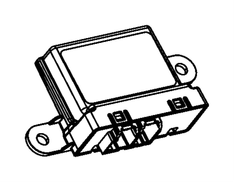 2012 Dodge Dart Module. Parking assist. Up to 07/16/2012