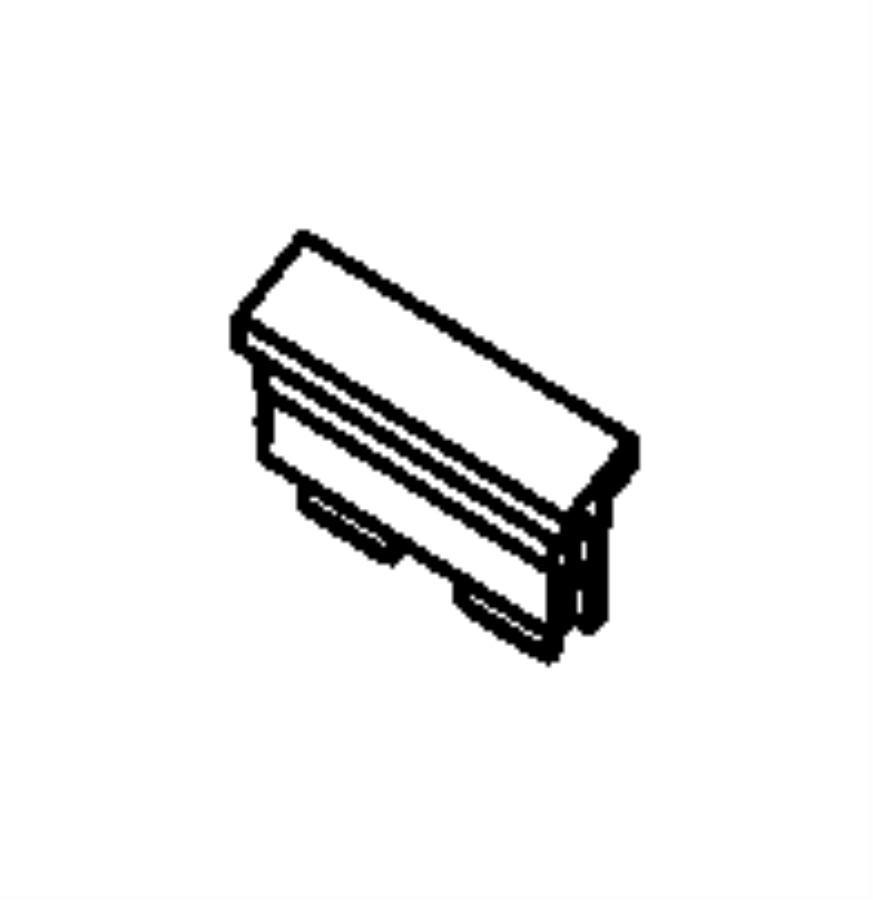 Dodge Dart Fuse. Maxi. 60 amp, blue. Export, mexico
