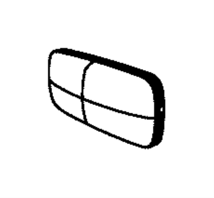 2009 Chrysler Sebring Lamp. Side repeater. [export