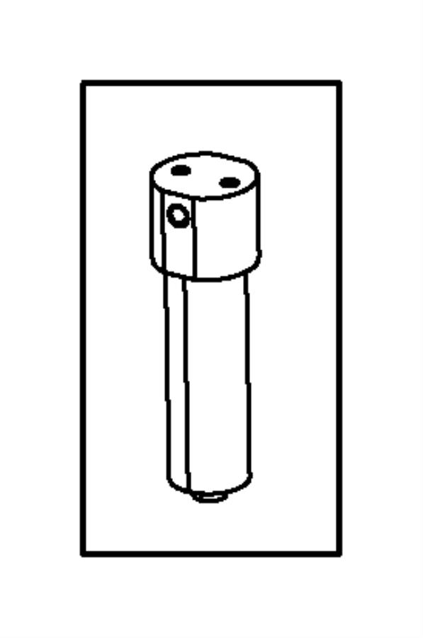 2016 Ram 2500 Filter. Fuel/water separator. Cng