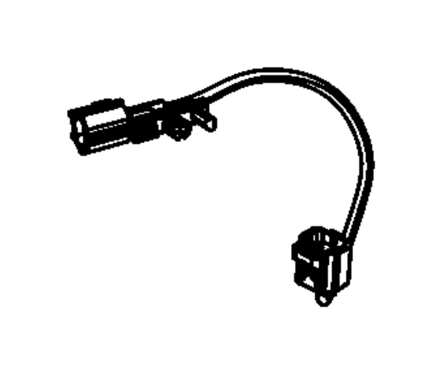 2017 Jeep Wrangler Wiring. Fuel water separator. [complete