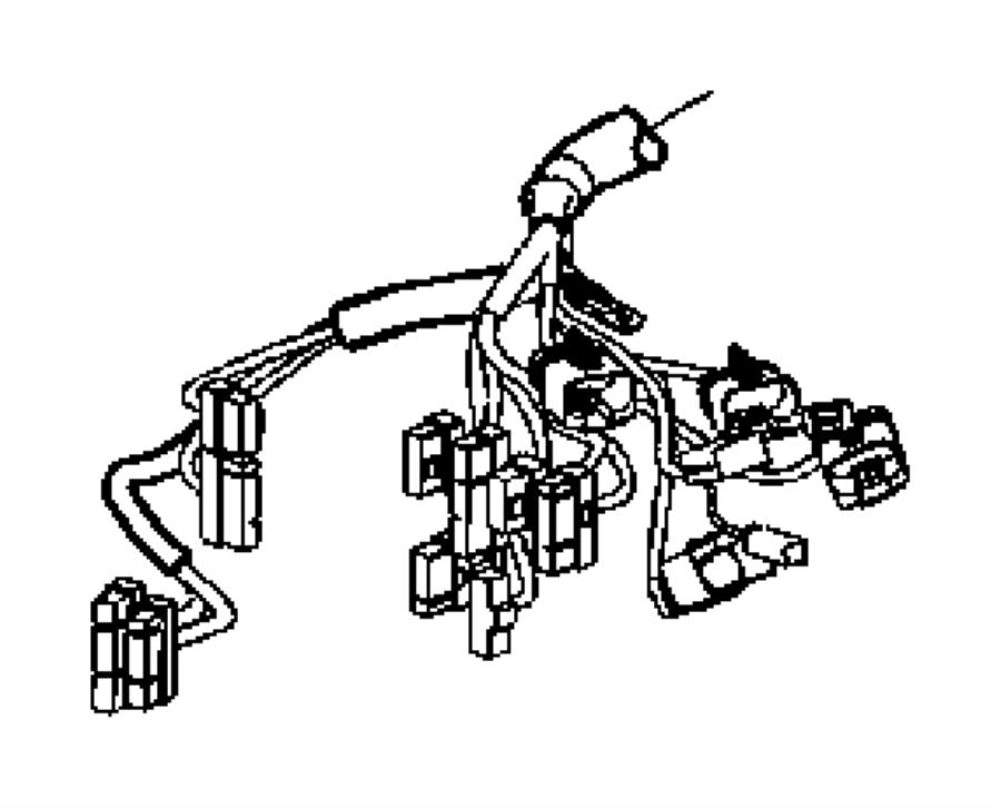 Dodge Avenger Wiring Instrument Panel Stability