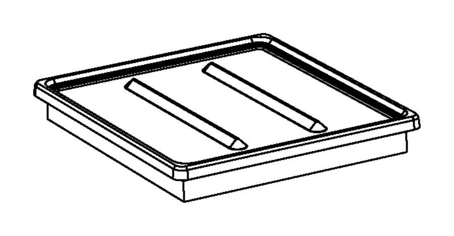 2013 Dodge Avenger Filter. Air, filter-air cleaner. Vvt