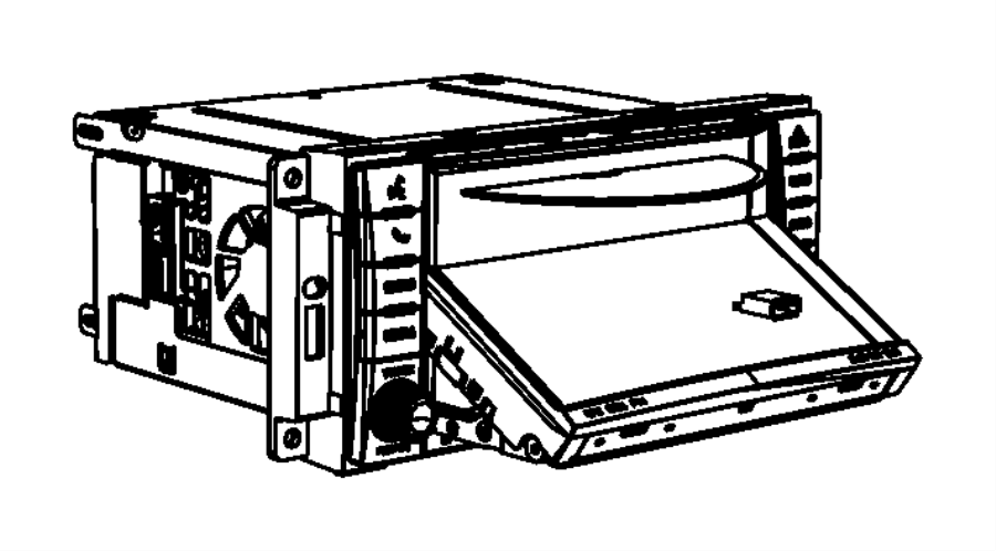 2012 Dodge Ram 1500 Radio. Am/fm/cd/dvd/hdd/satellite