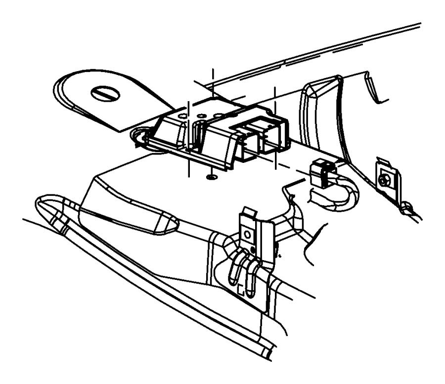 2012 Dodge Challenger Module. Occupant restraint