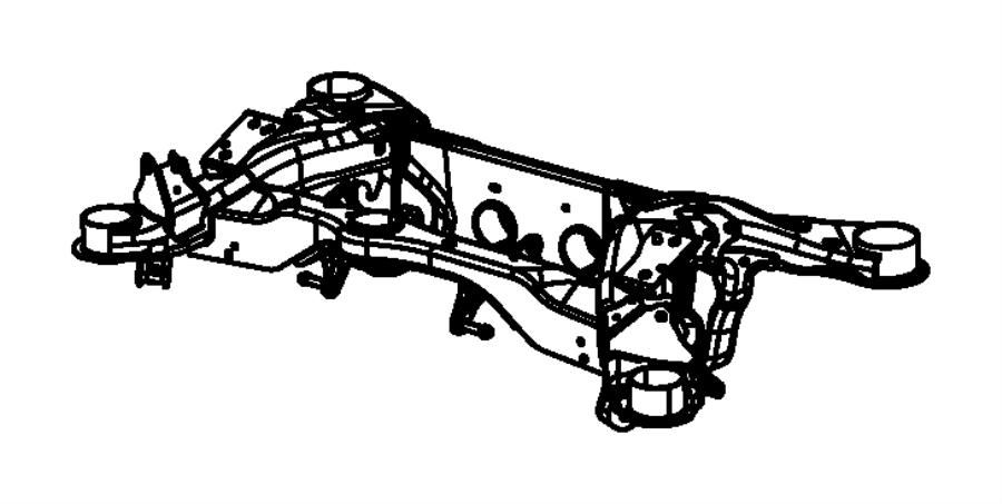 2014 Dodge Challenger Frame. Rear axle. Engine, hemi, vvt