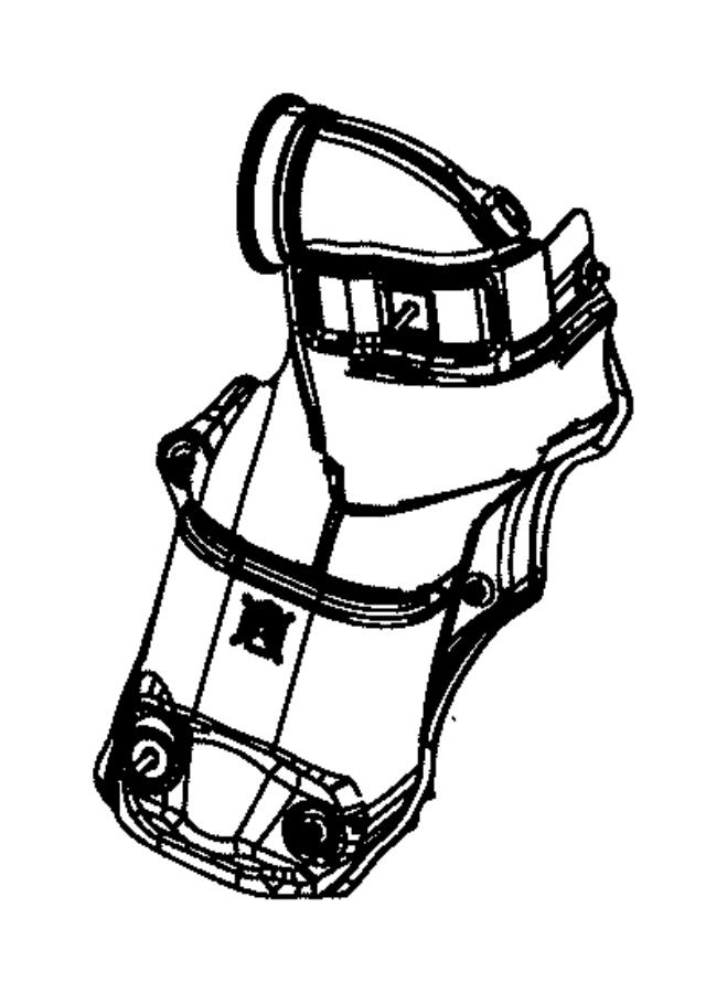 2015 Dodge Dart Nut. Heat shield attach. [power train