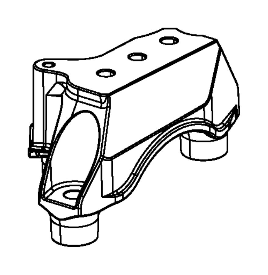 2014 Dodge Dart Bracket. Transmission mount. [6-spd c635
