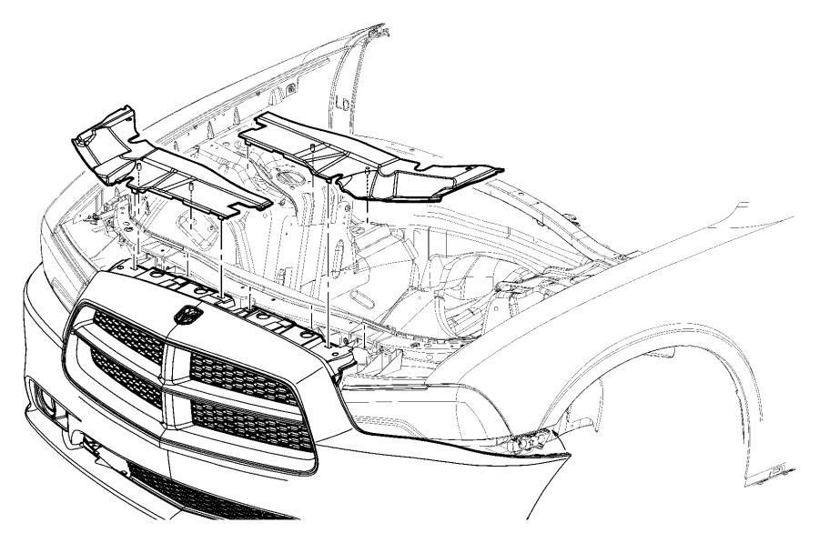 2012 Dodge Charger Panel. Closeout. Warningdelete, mfx