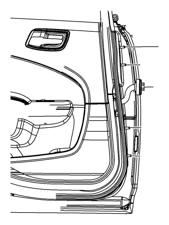 Dodge Charger Panel. Rear door outer repair. Left