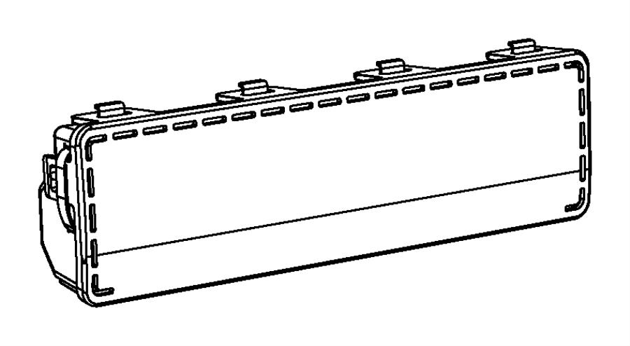 Chrysler 300 Air bag. Steering column opening. [x9], [xr