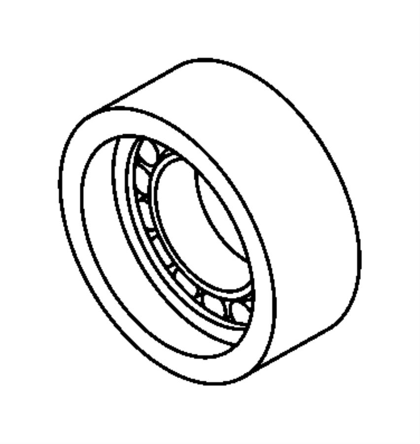 2013 Dodge Dart Tensioner. Timing belt. System, eaf