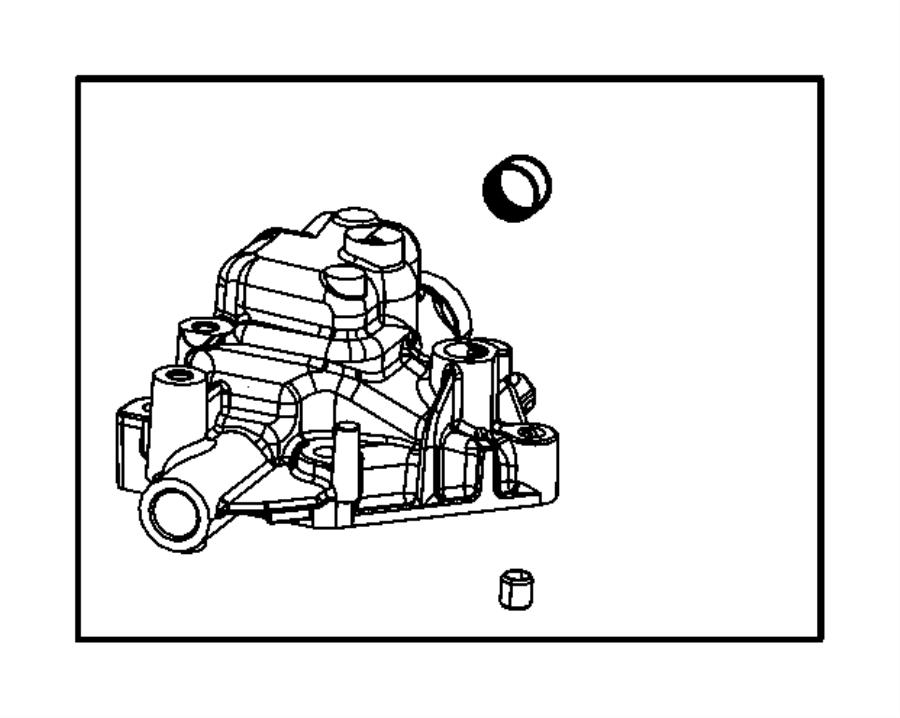Fiat 500 Dowel, dowel pin, pin. Transmission case. [2.8