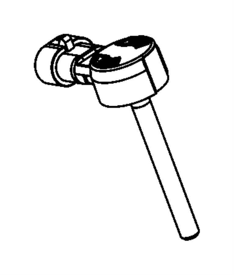 2012 Dodge Dart Sensor. Brake fluid level. Transmission