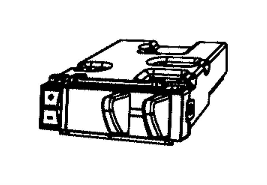 Dodge Ram 4500 Module. Trailer tow. [trailer brake control