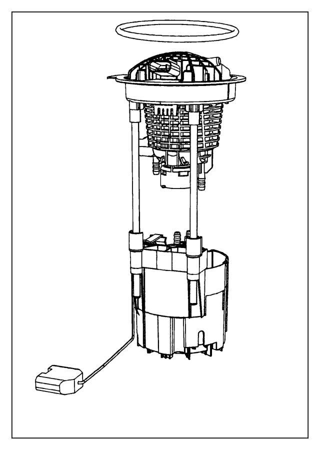 2013 Dodge Ram 1500 Module kit. Fuel pump/level unit. [26