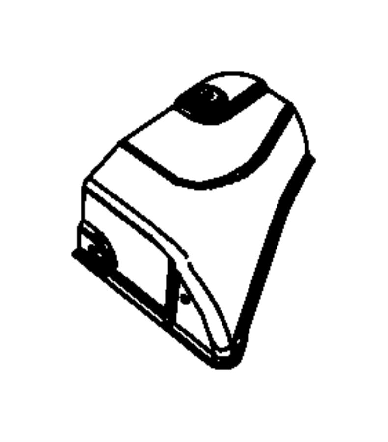 2014 Dodge Durango Shield. Exhaust. Resonator. Right