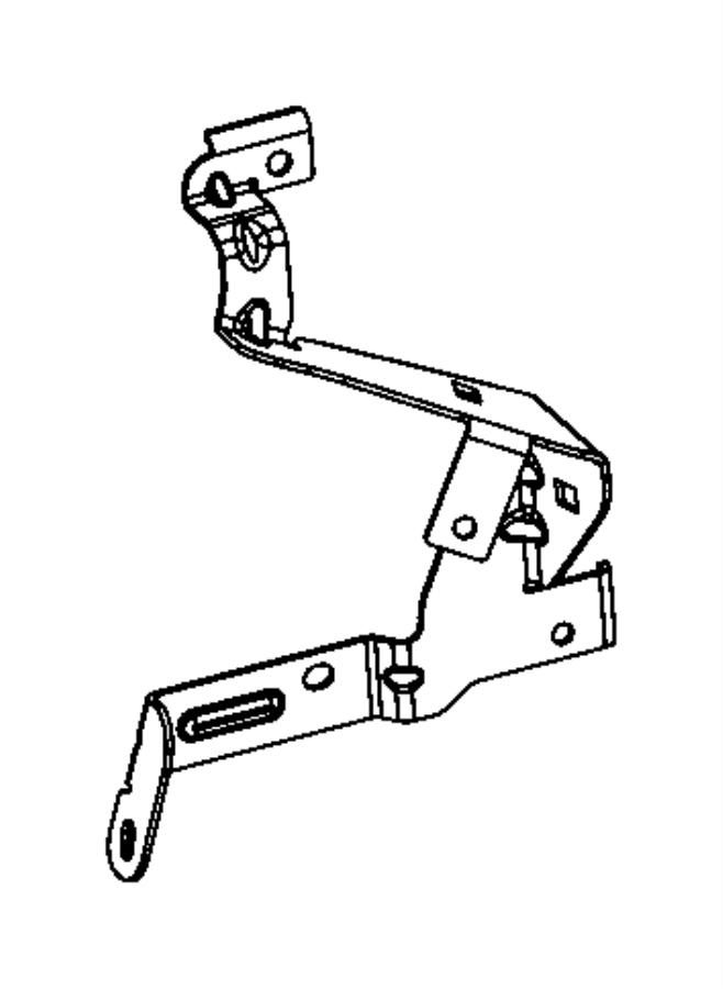 2014 Dodge Dart Bracket. Transmission wiring support