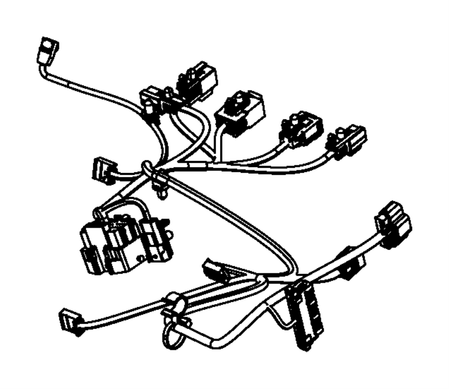 Dodge Charger Wiring. Power seat. [power 6-way driver seat